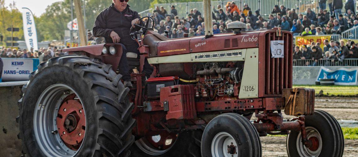 Standaard 5,5 ton deelnemer Jan Jaap Hoogland, Farmall 1206